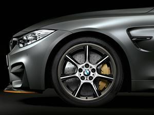 BMW M4 GTS tiene rines de fibra de carbono