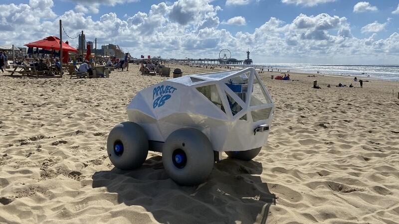 Video: así es el robot autónomo que mantiene limpias las playas