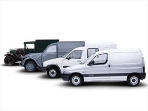 Así ha evolucionado el furgón comercial ligero de Citroen