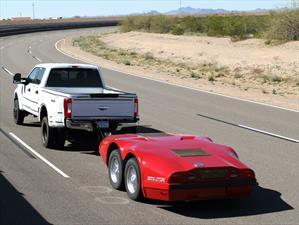 Ford Super Duty es evaluado con un dinamómetro que simula pendientes pronunciadas