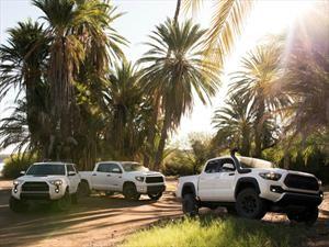 Toyota regresa la versión TRD Pro para el Tacoma, Tundra y 4Runner