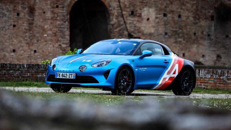 Alpine A110 Trackside: El auto de Fernando Alonso en Europa