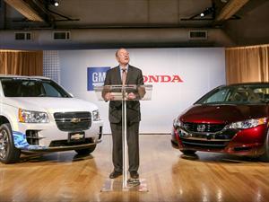 General Motors y Honda crearán celdas de hidrógeno