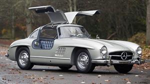 Mercedes-Benz 300SL 1955 con carrocería de aluminio vendido en u$s 4.62 millones
