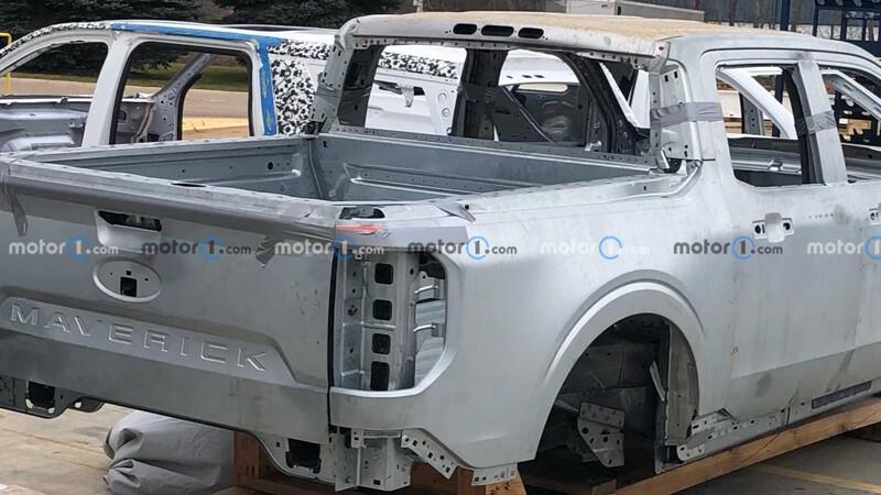 Espían a la Ford Maverick en su fábrica