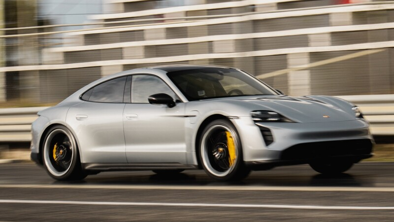 Porsche Taycan sigue quebrando récords