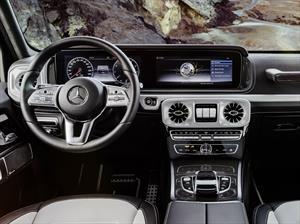El nuevo Mercedes-Benz Clase G muestra su interior