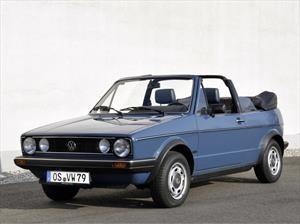 Volkswagen Golf Cabriolet festeja 40 años