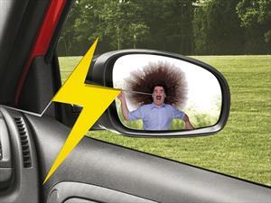 Taser en espejos retrovisores: deja K.O. a los amigos de lo ajeno