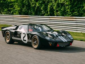 Restauran el Ford GT40 ganador de las 24 Horas de Le Mans 1966