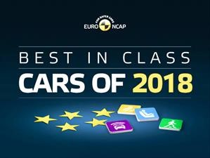 Euro NCAP elige los autos más seguros de 2018