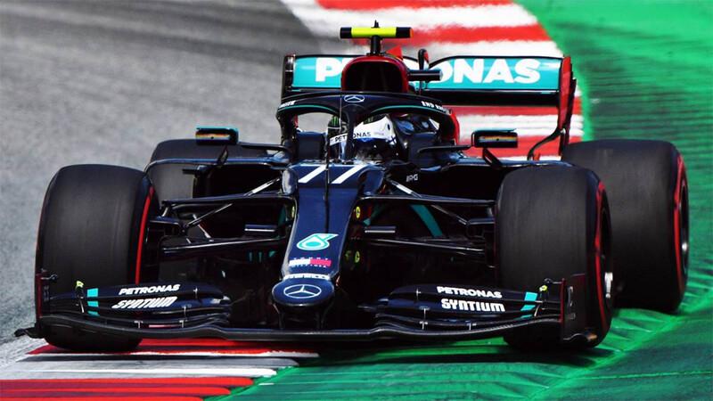 F1 2020: debut en Austria con triunfo de Bottas