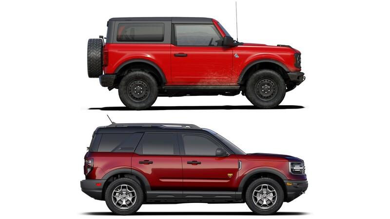 ¿Qué diferencias hay entre el Ford Bronco y el Ford Bronco Sport?