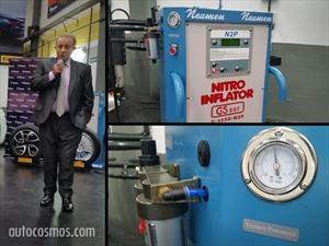 ¡Dale gas! Ahora en Neumen se pueden inflar los neumáticos con nitrógeno