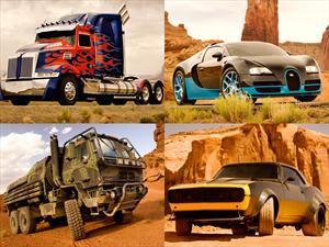 Autobots se transforman para nueva película en 2014