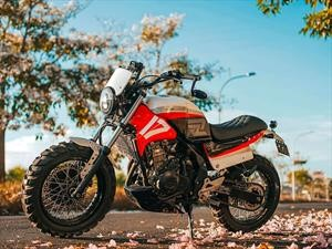 Smoked garage Honda CB500X Rōnin