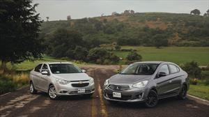 Comparativa: Mitsubishi Mirage G4 vs Chevrolet Aveo