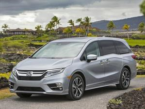 Honda Odyssey 2018 consigue el Top Safety Pick+