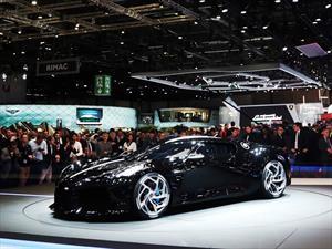 Bugatti La Voiture Noire, un modelo único con valor de 12.5 millones de dólares