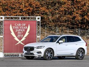 Volvo XC60 nombrada Auto del Año 2018 en Japón