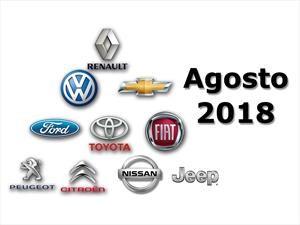 Top 10: Las marcas más vendedoras de Argentina en agosto de 2018