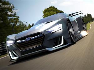 Subaru Viziv GT Vision Gran Turismo, se mira y no se toca