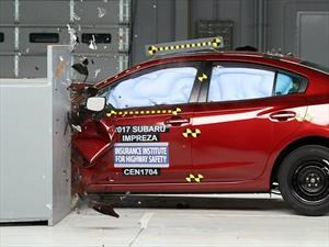 Subaru Impreza 2017 logra el Top Safety Pick + del IIHS
