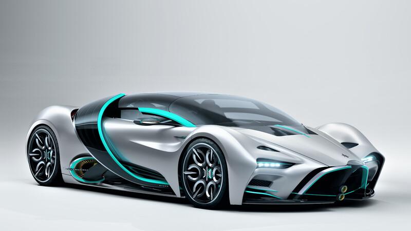 Hyperion XP-1 es un super auto eléctrico con una potencia y autonomía superior
