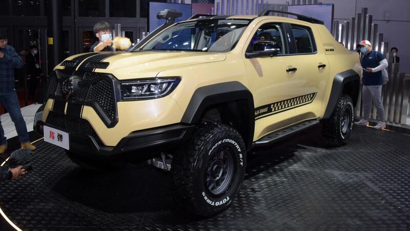 Poer Baja Snake: La camioneta china de Shelby