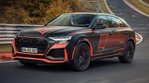 Audi RS Q8 aun no sale a la venta y ya es el SUV más rápido de Nurburgring