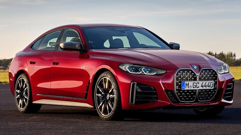 BMW Serie 4 Gran Coupé 2022: la nueva generación es más deportiva