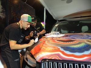Volvo XC90 es intervenido durante el Auto Art Ciudad de México 2017