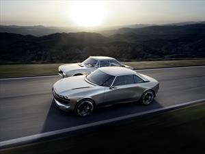 Peugeot homenajea al 504 Coupé con el e-Legend