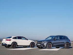 Mercedes-AMG GLC 63 y GLC 63 Coupé 2018 debutan