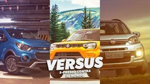 Suzuki S-PRESSO vs Fiat Uno Way vs Chevrolet Spark GT Activ, duelo de MINI SUVs