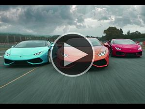 Video: Lamborghini Huracán, manejado por instinto