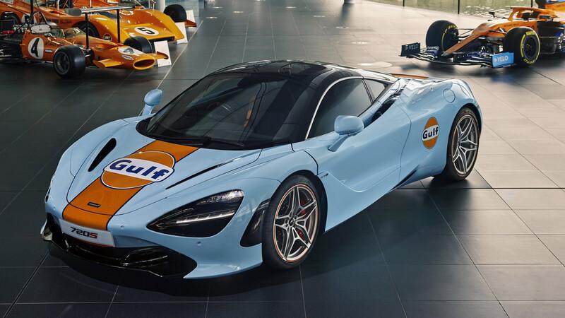 Ahora podés tener tu McLaren 720S con los mejores colores de la historia