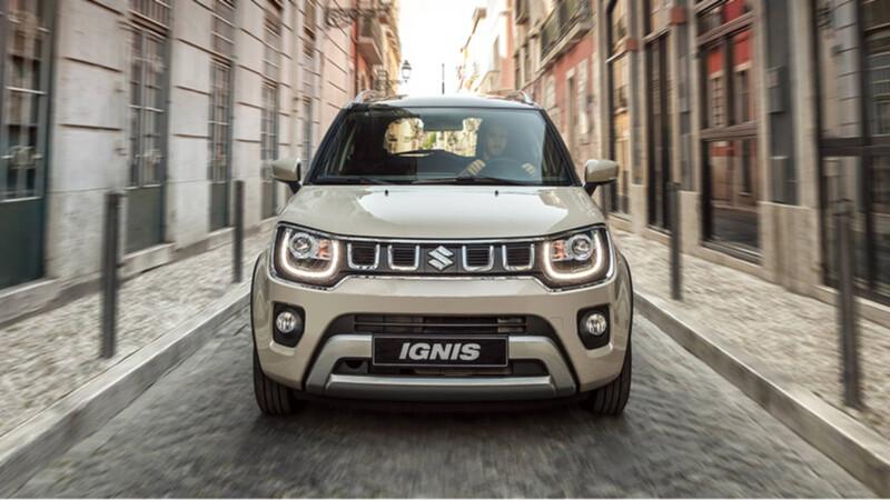 Suzuki mete corriente al Ignis 2021