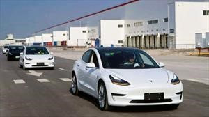Tesla Model 3 ya se produce en China