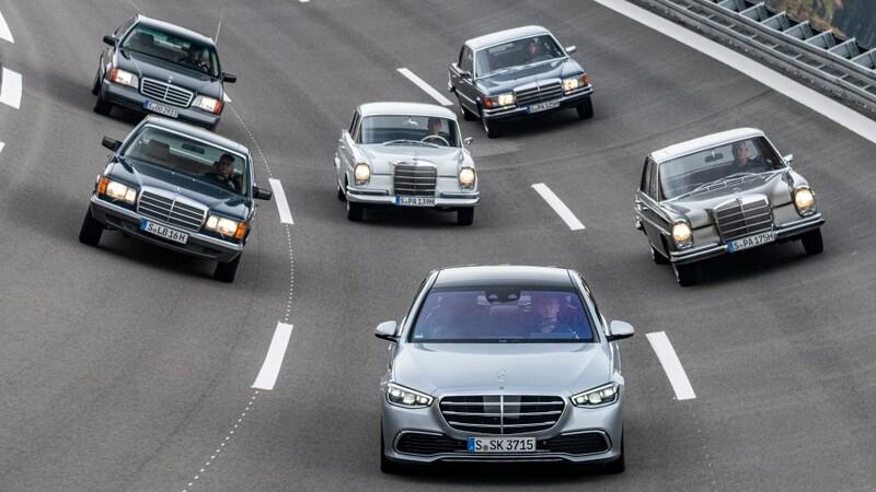 Aportes tecnológicos del Mercedes-Benz Clase S y sus antecesores