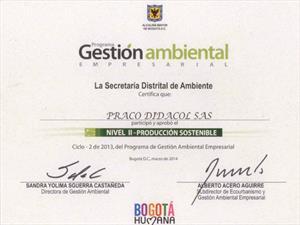 Praco Didacol, líder en Gestión Ambiental Empresarial