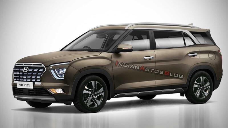 Hyundai Alcazar, ¿Un Creta de 7 asientos?