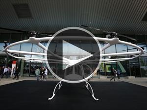 Daimler Volocopter 2X, el futuro taxi que vuela