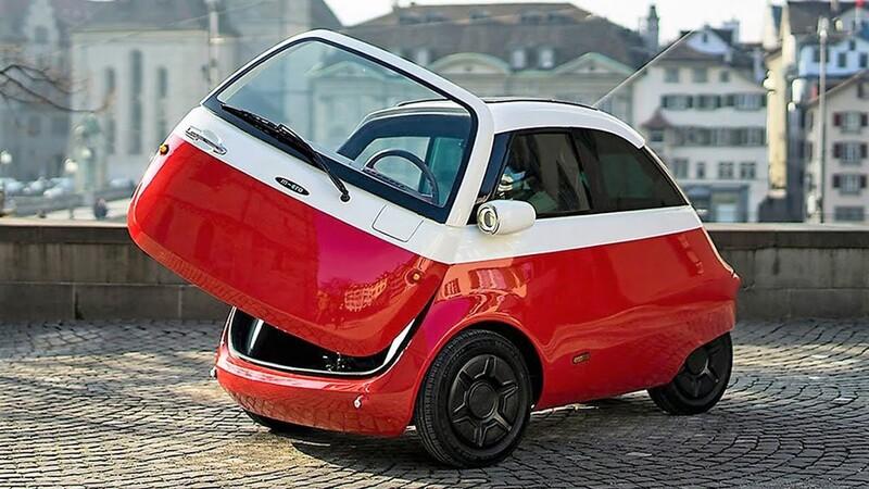 El icónico Isetta, ahora llamado Microlino 2.0, regresa como un auto eléctrico