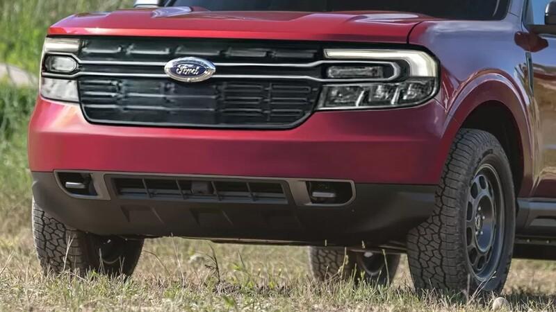 Así se vería la Maverick 2022, la nueva pickup compacta de Ford