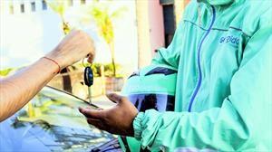 Servicio de conductor elegido a través de una aplicación
