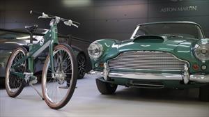 Coolen x Aston Martin, la bicicleta inspirada en uno de los autos más bellos de la historia