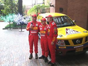 Fue presentado el equipo Dakar Café de Colombia 2015