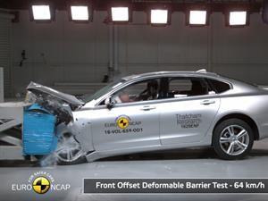 Volvo nuevamente lidera la puntuación de seguridad Euro NCAP con el S90 y V90