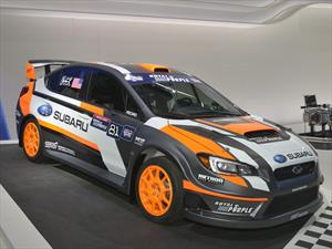Subaru VT15x listo para el Red Bull Global Rallycross